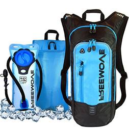 No.1 Hydration Pack Backpack with 2L Water Bladder & Cooler