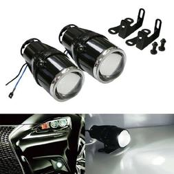 """iJDMTOY  2.25"""" Projector Fog Light Lamps For Most Car SUV Tr"""