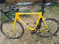 Motobecane Immortal Pro Road Bike 62cm Carbon Fiber Ultegra
