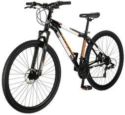 "29"" Mongoose Men's Impasse Mountain Bike Disc Brakes, Black"