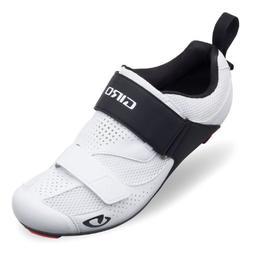 Giro Men's Inciter Tri Cycling Shoes, White/Black, Size 45