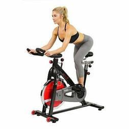 SUNNY HEALTH & FITNESS Indoor Cycling Bike, Belt Drive Exerc