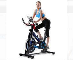 Goplus Indoor Cycling Bike Exercise Cycle Trainer Fitness Ca