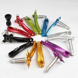 IXF Aluminum MTB Road Bike Bicycle Crankset R/F 170mm 104BCD