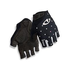 Giro Jag'Ette Womens Cycling Gloves Black Sharktooth Medium