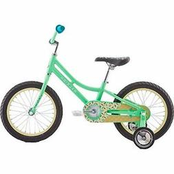 Raleigh Bikes Jazzi 16 Kids Bike with Training Wheels for Gi