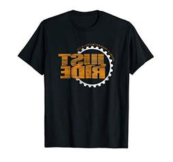Just Ride T Shirt Cycling MTB Road Bike Cyclist Bicycle Gift