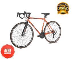 kent gzr700 road bike 700c steel frame