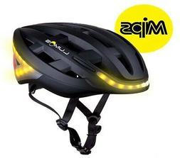 Lumos Kickstart Charcoal Black MIPS Adult 54-62cm LED Bike H