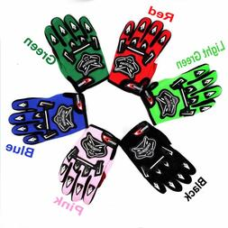 Kids Motocross & Cycling Gloves Off Road Bike Riding Racing