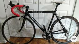 knight aluminum and carbon road bike 54cm