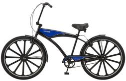 "Schwinn Kokomo 27.5"" Cruiser Bike-Black/Blue"
