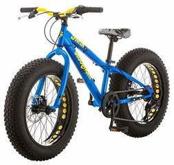 "20"" Mongoose Kong Boys' All-Terrain Fat Tire Bike, Blue"