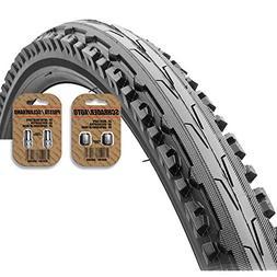 KENDA Kross Mountain Bike Tire  Black - Semi Slick Tread Sty