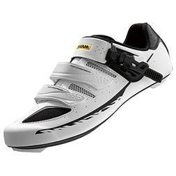 Mavic Ksyrium Elite II Shoes - Men's White/Black, US 10.5/UK