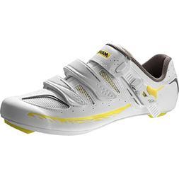 Mavic Ksyrium Elite II Shoes - Women's White/Colza Yellow/Gr