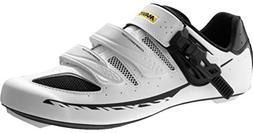 Mavic Ksyrium Elite II Shoes - Men's White/Black, US 9.5/UK