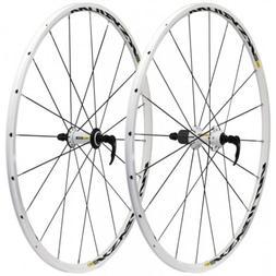 Mavic Ksyrium Equipe 700c Road Clincher Wheelset White