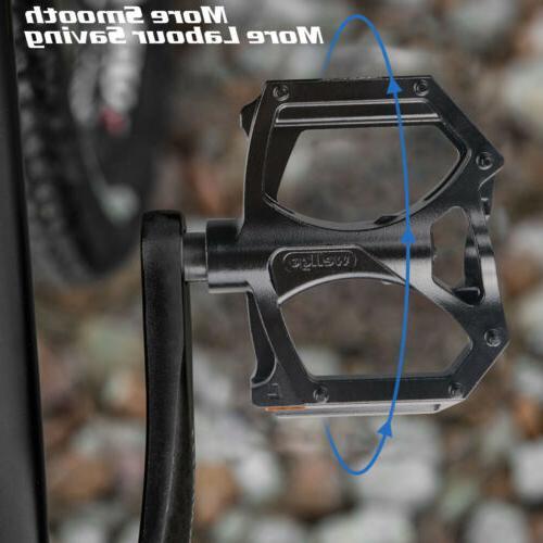 1 PAIR Mountain Bike Pedals Fiber Sealed USA