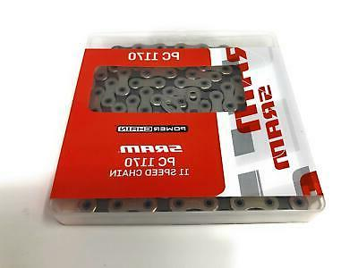 NEW SRAM PC 1170 120 Linls 11-Speed Bicycle Chain with Power