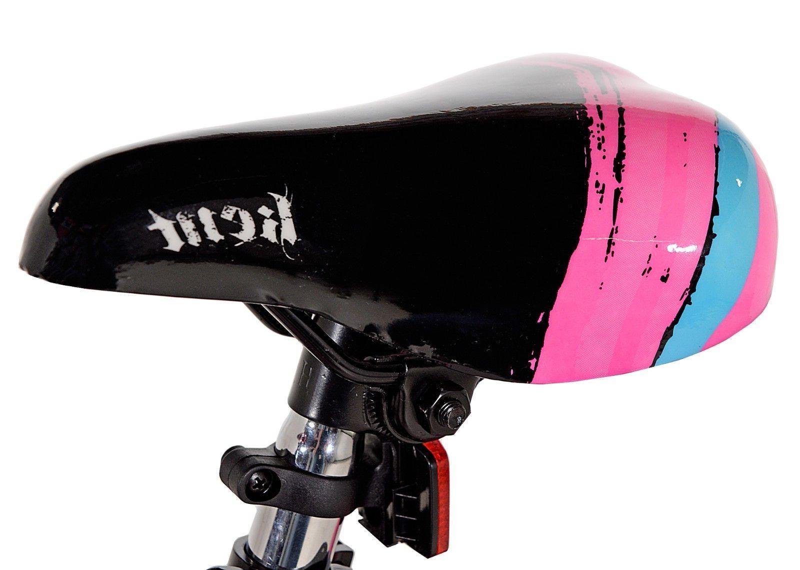 """Kent 18"""" Girls', Bike, Black/Pink, 6-9"""