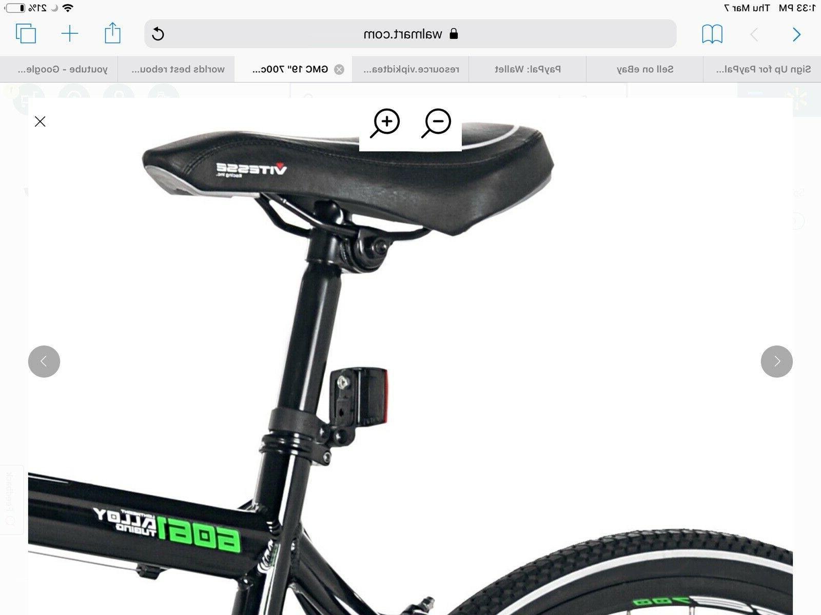 Denali Road Bike 28mm tires Bicycle Black/Green