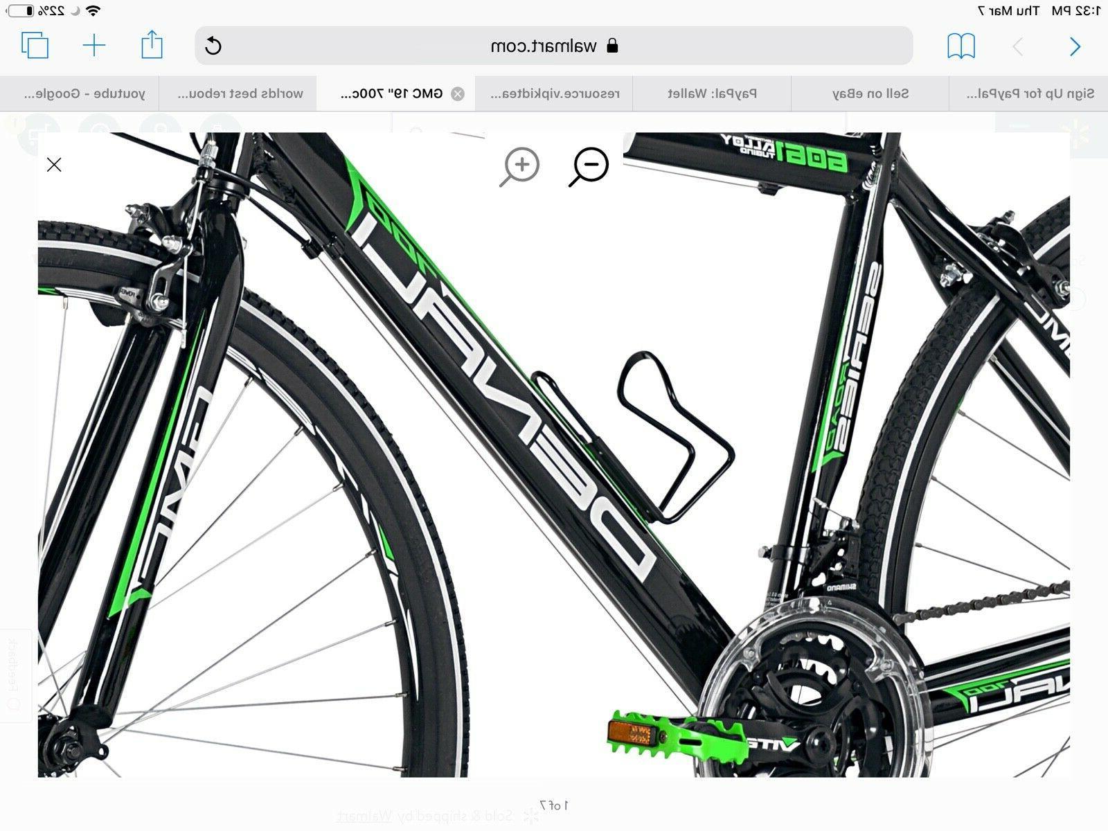 Denali Road tires Bicycle Black/Green