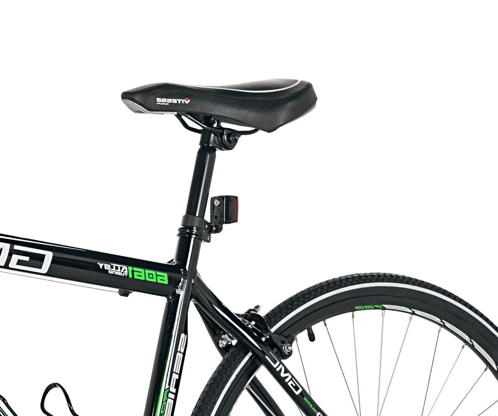GMC 700c Denali Bicycle Black/Green DAY