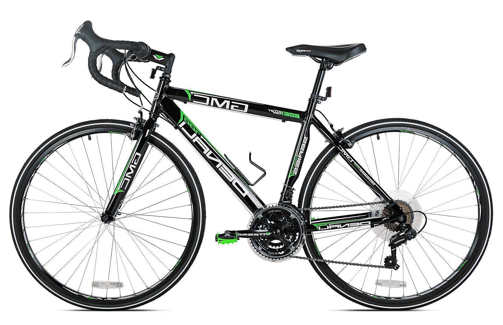GMC 700c Denali Bike, Black/Green 2 SHIPPING**
