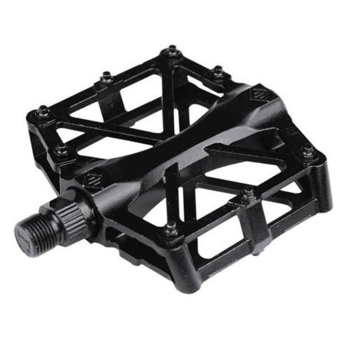 "Road Mountain Bike Pedals Flat Aluminum 9/16"" MTB BMX"
