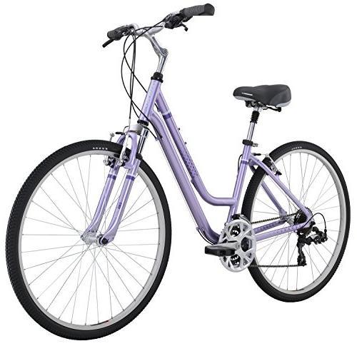 Diamondback Bicycles Women S Vital 2 Complete Hybrid Bike