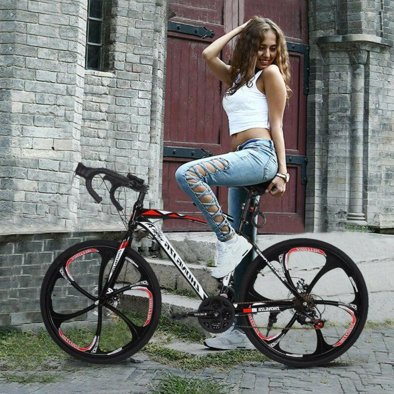 Road Bike Speed Mens Daul Disc