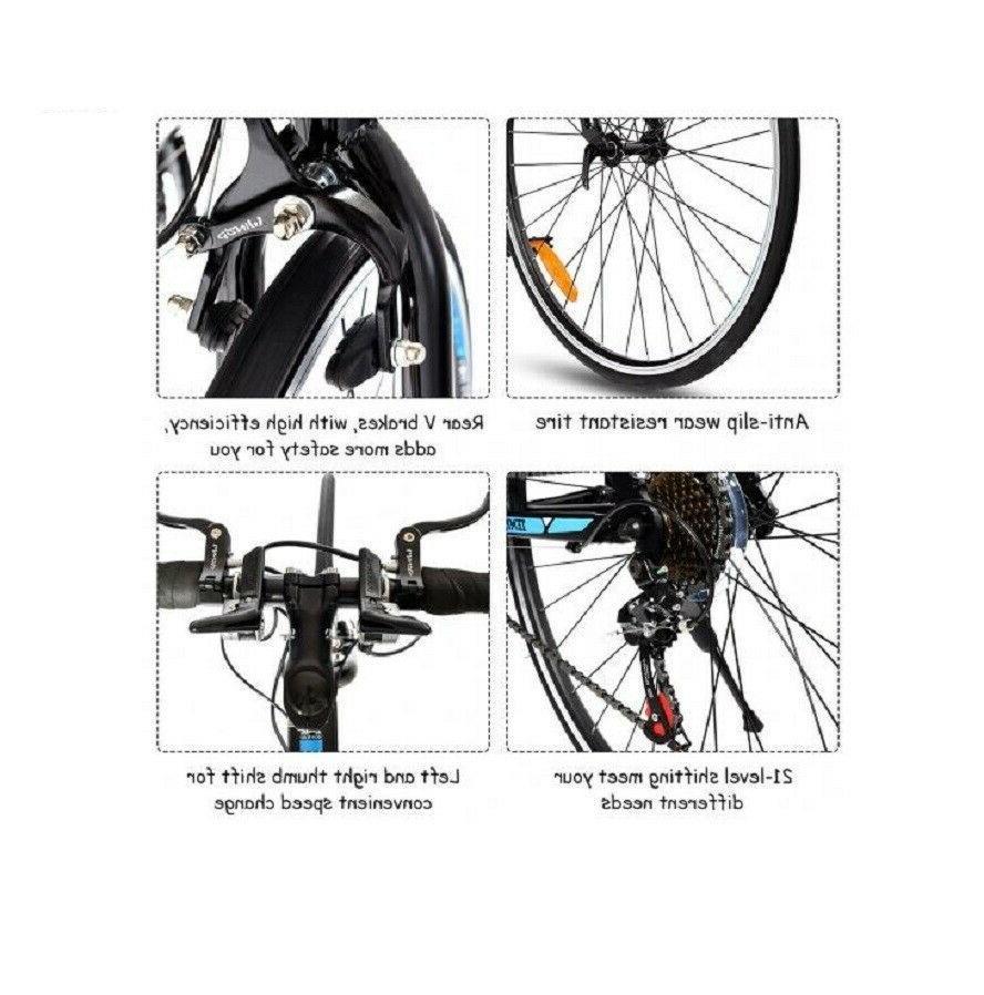 21 Speed Release Aluminum Road Bike Lightweight Frame Shimano
