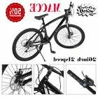 "21 Speeds Double Disc Brakes Mountain Bike 26""- Inch Carbon"