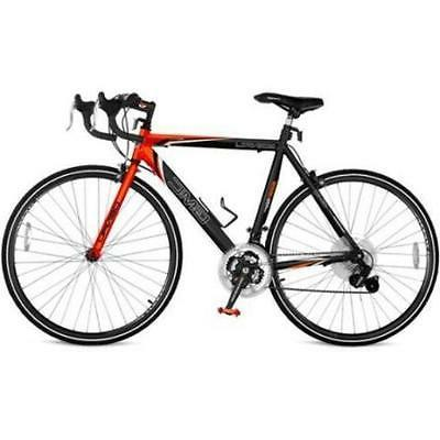 "25"" GMC Denali 700c Men's Road Bike,Black-Orange New"