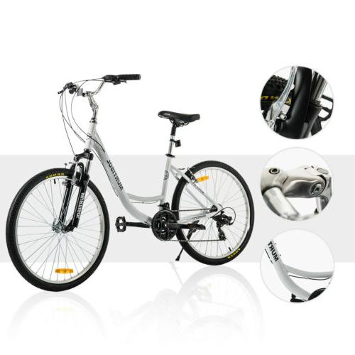 "26"" Aluminum Bike 21 Bicycle Suspension"