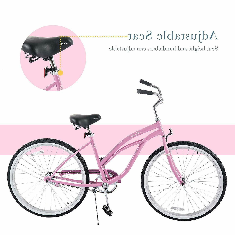 26'' Beach Cruiser Bicycle City Bike Bike w/