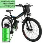 "26"" Folding Aluminum Alloy Electric Folding Mountain Bike Cy"