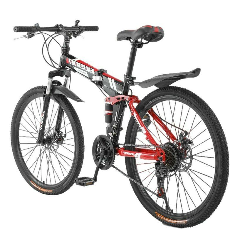 26inch Mountain 21 Bicycle Full Suspension Bikes