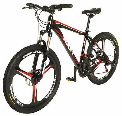 "Vilano 26"" Mountain Bike Ridge 2.0 MTB 21 Speed Shimano with"