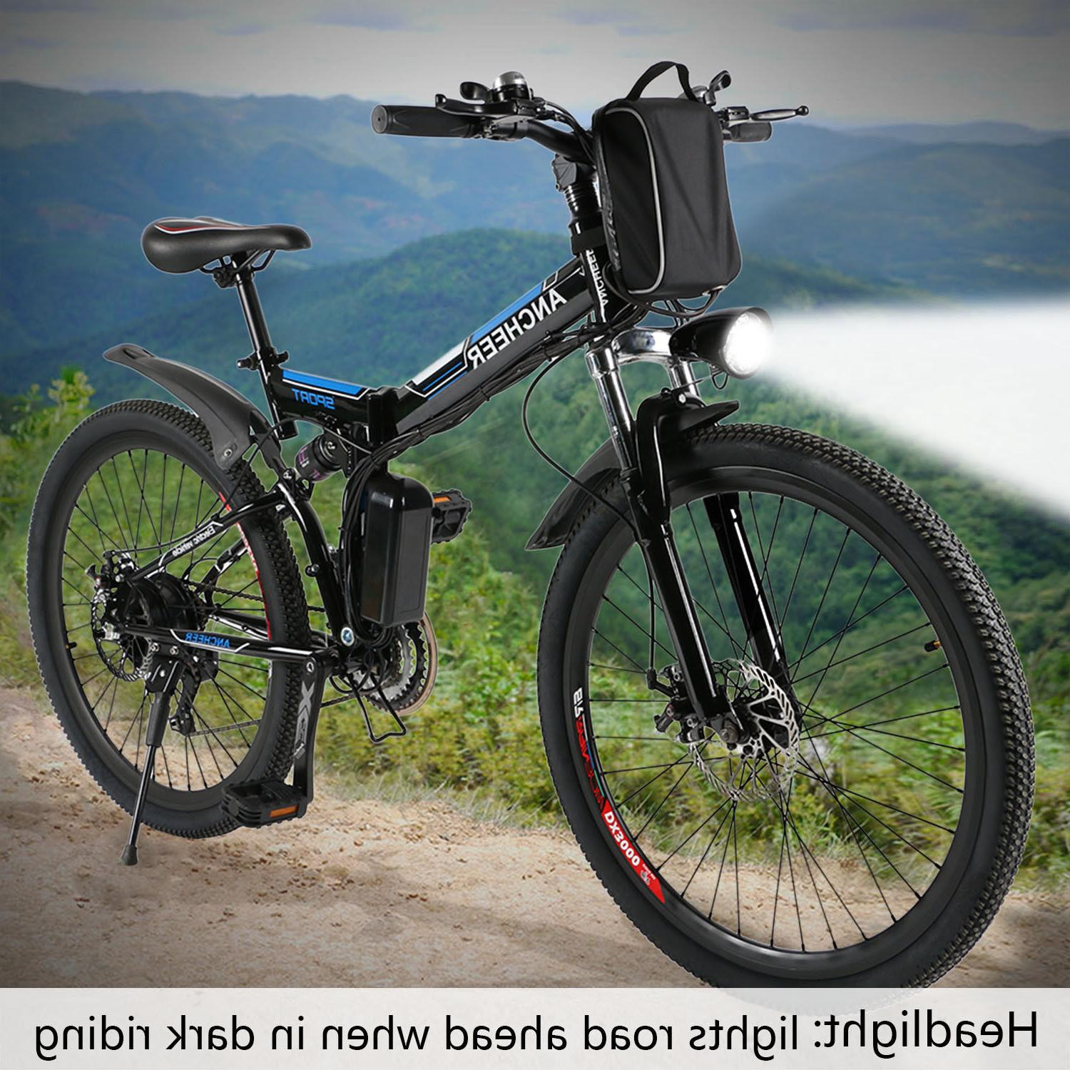"26"" Shimano 7th Gear Electric Bicycle 7 modes Mountain Ebike"