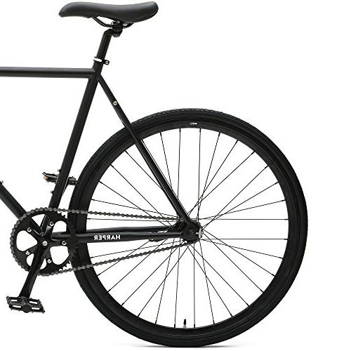Critical Cycles 2901 Harper Coaster Fixie Single-Speed Commuter Bike Brake, Black