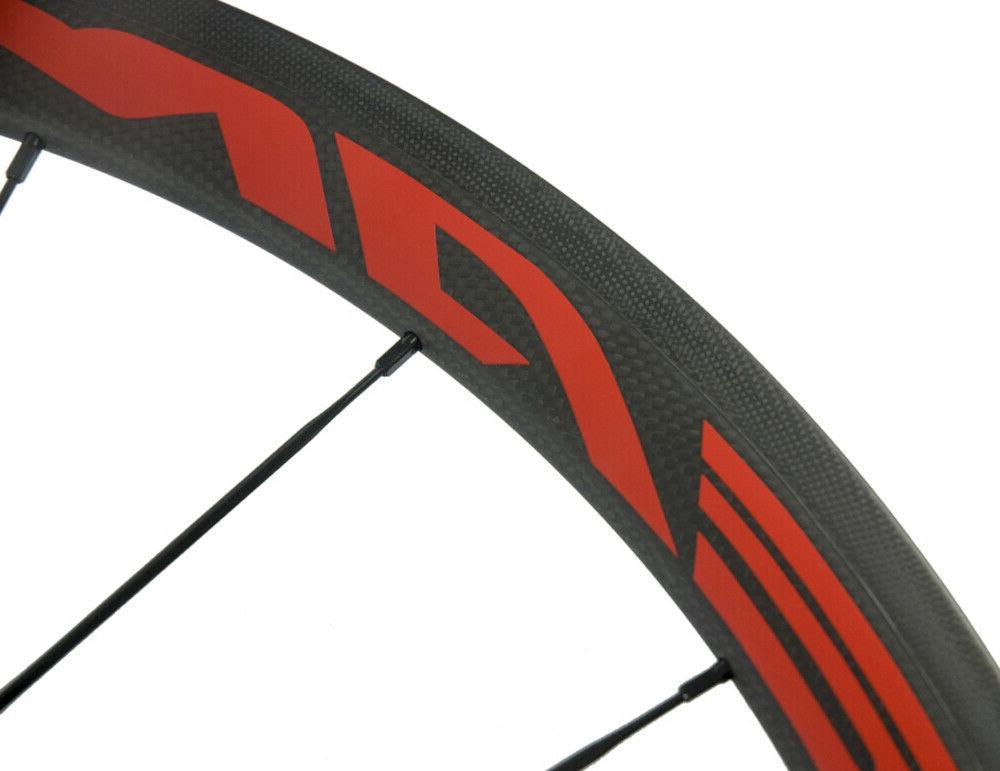 38mm Carbon Bike Clincher Bicycle Wheelset 700C 700C