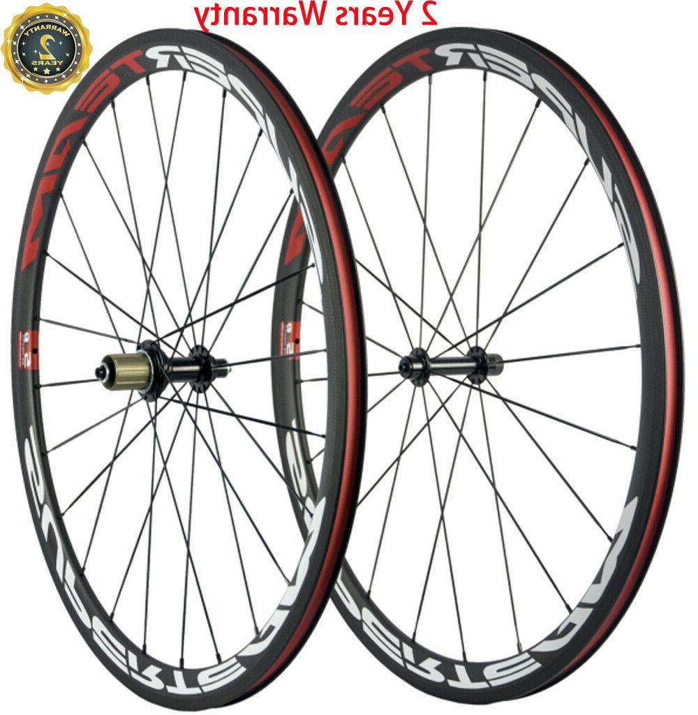 38mm carbon wheels road bike clincher bicycle
