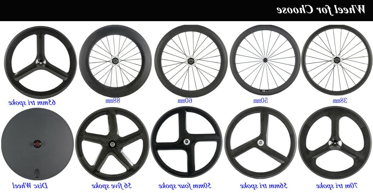 38mm Clincher Road 700C Width Race Wheel