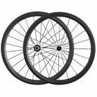 38mm Tubular Ceramics hub Wheelset Carbon Wheels road Bike W