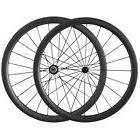 ultra light 38mm tubular carbon wheels road