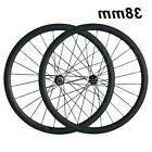 38mm Tubular front wheel rear wheel Carbon wheelset road bik