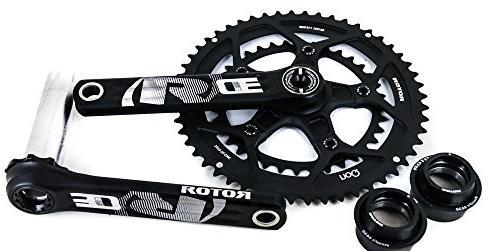 3d30 road tri bike crankset