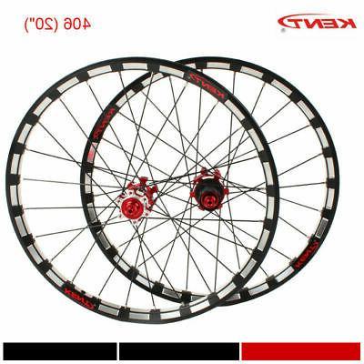 406/451 Folding Road Wheels Straight Wheelset Bearing